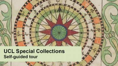 UCL Special Collections self-guided tour