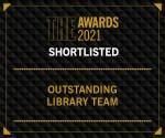Times Higher Education Awards 2021 logo for nomination