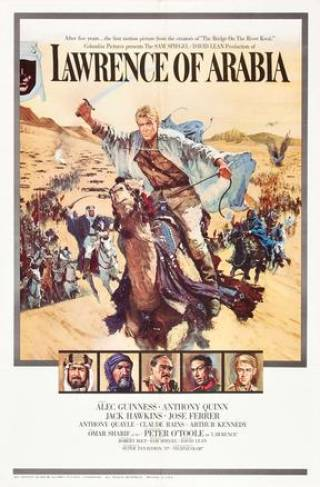 Lawrence of Arabia film poster