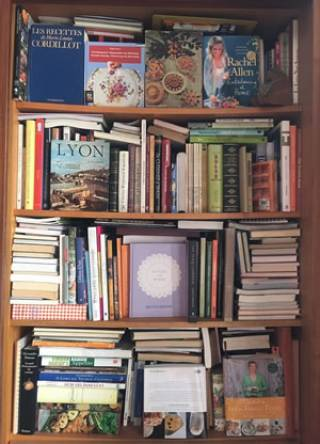 Collection of cook books