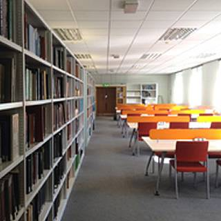 Earth Sciences reading room