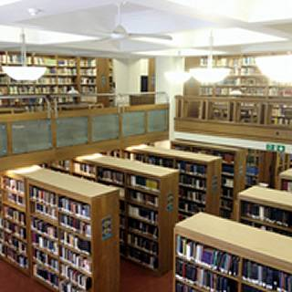 English reading room