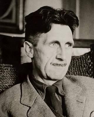 Georgre Orwell portrait