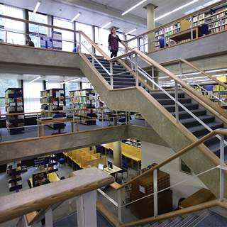 Interior of Institute of Education Library