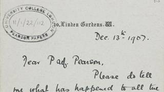 Two letters from Alexandra Wright to Karl Pearson, 13 Dec 1907 and undated