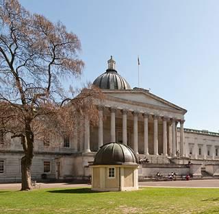 UCL Portico building