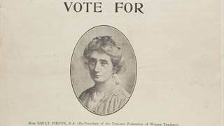 Campaign material for Emily Phipps' campaign as a candidate in Chelsea