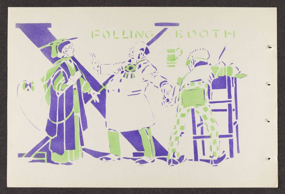 Housman, Laurence. An Anti-Suffrage Alphabet