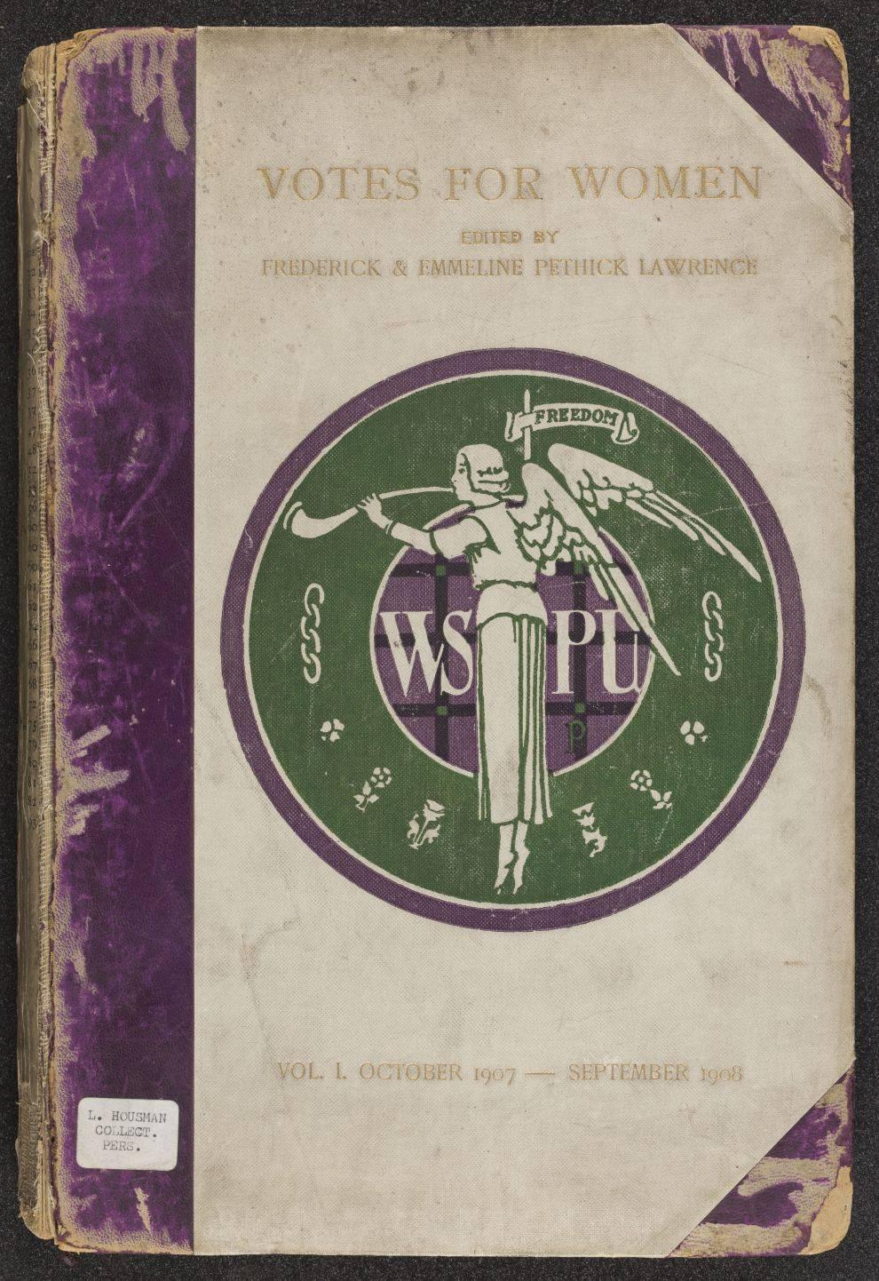 Votes for women Vol 1 (Oct 1907 - Sept 1908)