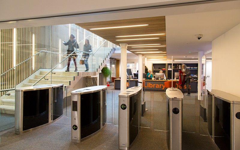 UCL Cruciform Hub entrance gates