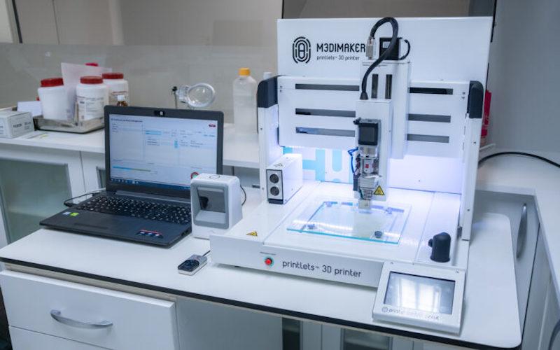 M3DIMAKER™ pharmaceutical 3D printer from FabRx.