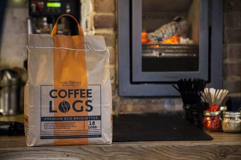 Bio-Bean Coffee Logs Briquettes