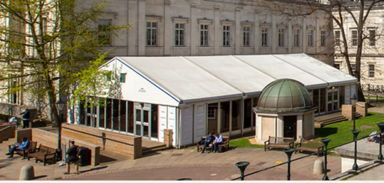 UCL Quad marquee tent
