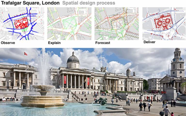 Trafalgar Square, London – Spatial design process