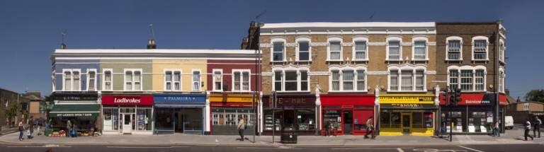 Leyton high street - after regeneration