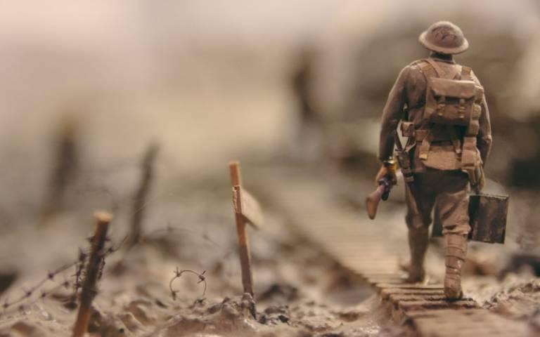 WW1 battefield