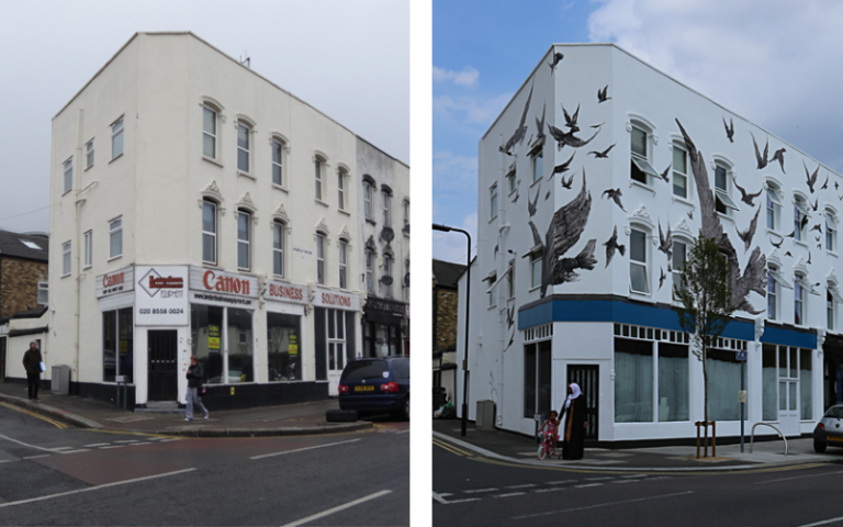 Leytonstone - before and after