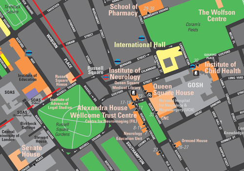 Campus Map Downloads Ucl Maps