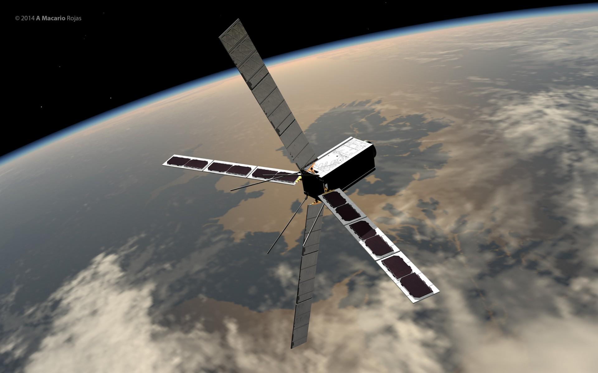 Discoverer satellite