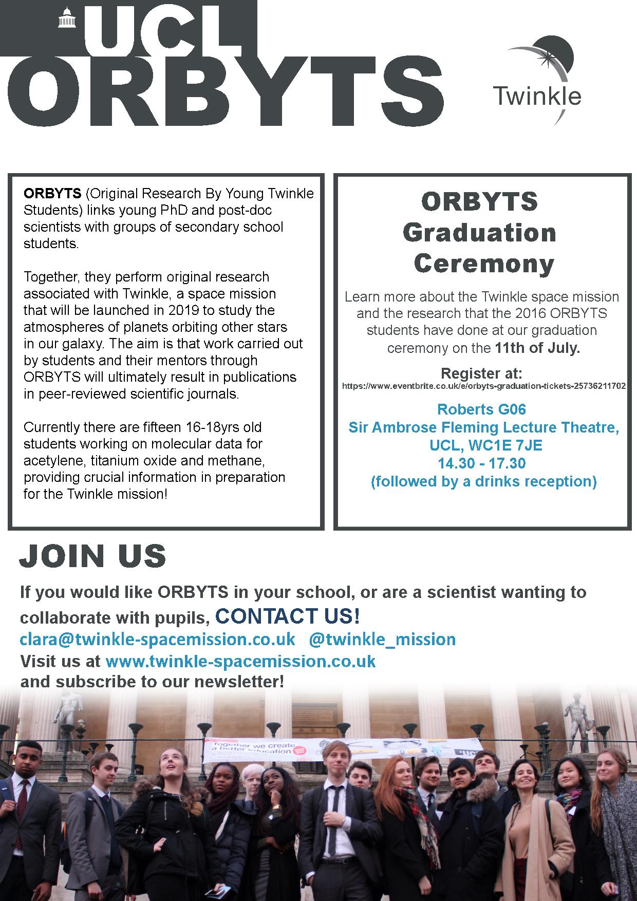 Orbyts Graduation Ceremony