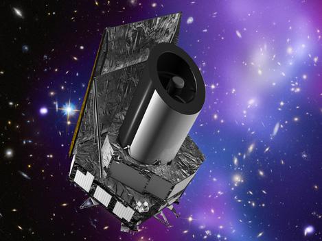 Euclid spacecraft illustration
