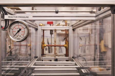 Reactor pressure. Photo: O. Usher (UCL MAPS)