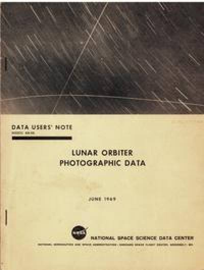 Lunar Orbiter cover…