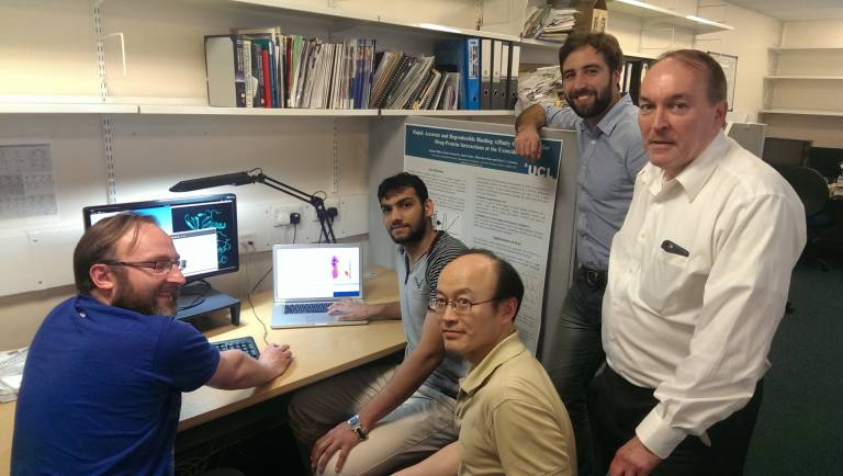 UCL team involved in using supercomputers to develop personalised medicine