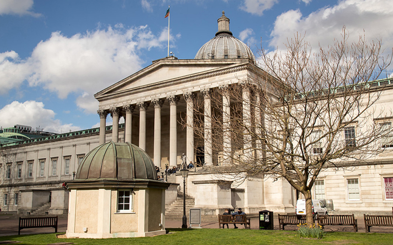 UCL Front Quad and Portico, © UCL Digital Media