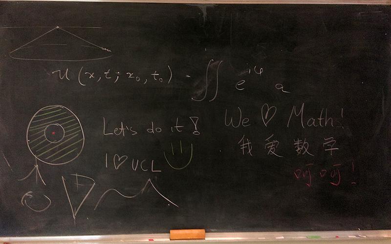 Happy blackboard!