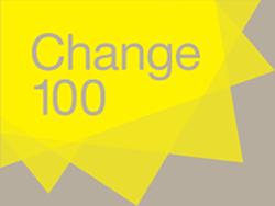 Change 100 logo