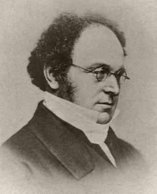 Portrait of Augustus De Morgan