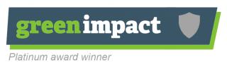 Grrrn Impact Platinum Award
