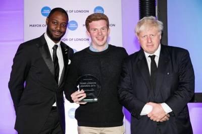 Callum Donaldson - Team London Award…