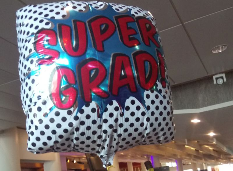Super Grad balloon