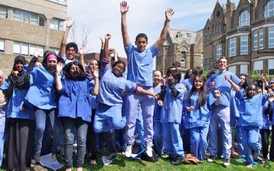Target Medicine school students…