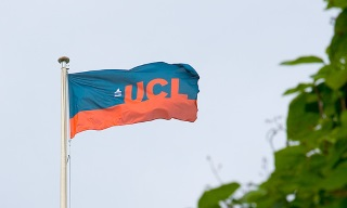 UCL flag…