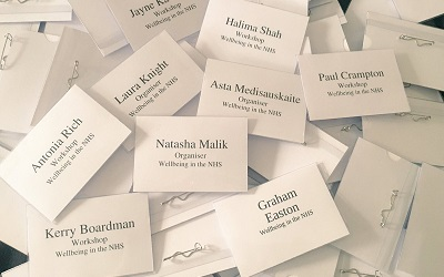 Staff name badges