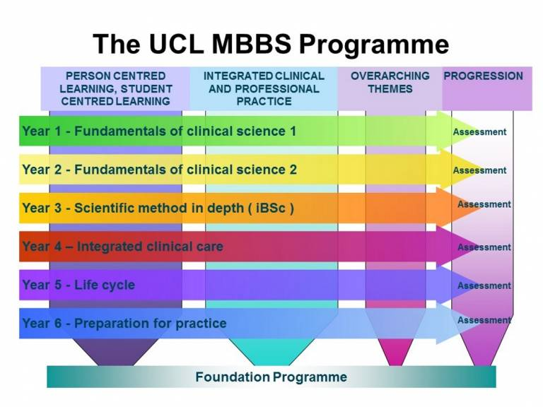 Course structure | UCL Medical School - UCL - London's