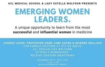 Emerging Women Leaders flyer
