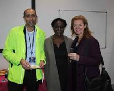 Art launch at the Whittington Undergraduate Centre…