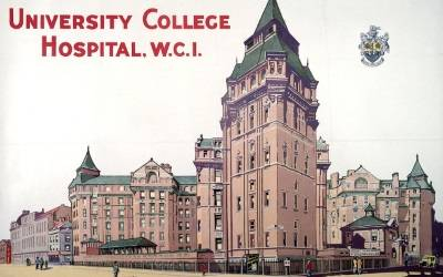 The Cruciform Building, University College Hospital…