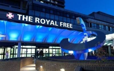Royal Free Hospital…