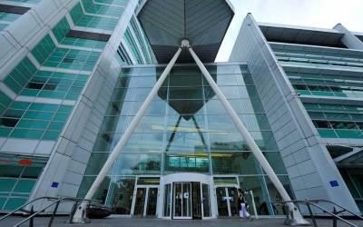 UCLH Main Entrance…