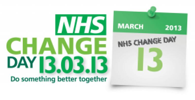 NHS Change Day logo…