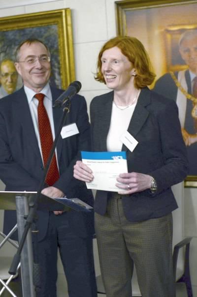 Dr Jayne Kavangh Public Engagement Award…