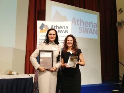 Athena Swan Silver Award…