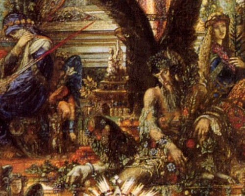 Jupiter and Semele (Gustave Moreau)