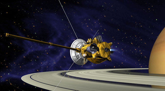 Artist's impression of Cassini-Huygens. Credit: ESA/NASA