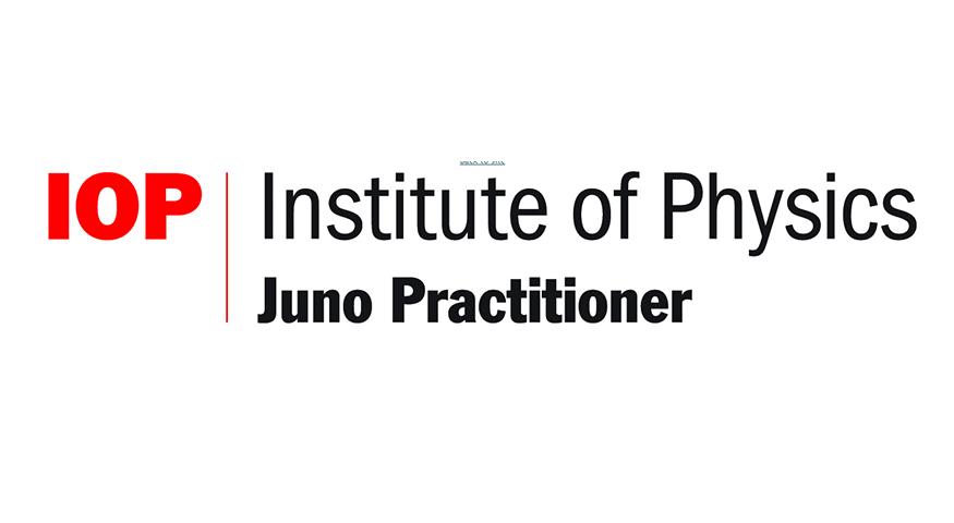 Institute of Physics Juno Practitioner Award Logo